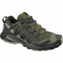 Pánska bežecká trailová obuv SALOMON-XA PRO 3D V8 grape leaf/peat/shad (EX) -