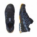 Pánska bežecká trailová obuv SALOMON-XA PRO 3D V8 nisk/dark denim/butte (EX) -