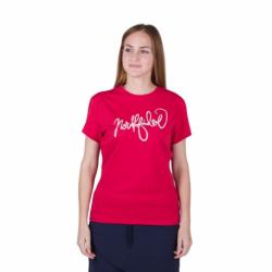 Dámske turistické tričko s krátkym rukávom NORTHFINDER-MEADOW-360red