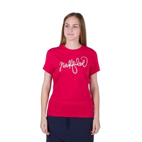 Dámské turistické tričko s krátkým rukávem NORTHFINDER-MEADOW-360red