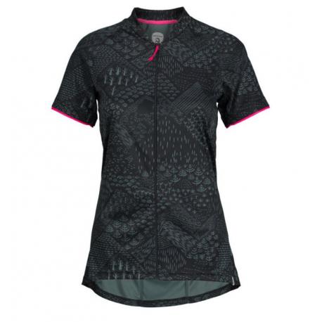 Dámský cyklistický dres s krátkým rukávem NORTHFINDER-DIKA