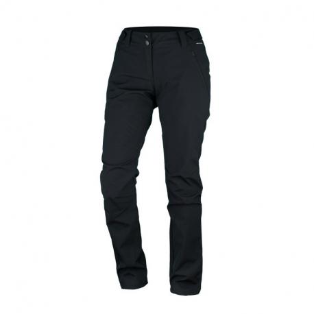 Dámske turistické softshellové nohavice NORTHFINDER-KELIA -269black