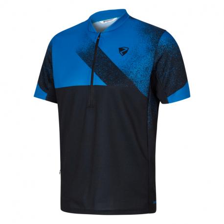 Cyklistický dres s krátkym rukávom ZIENER-PESLER man (tricot) blue