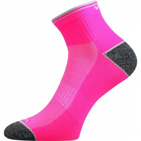 Dámské běžecké ponožky VOXX-Ray- REFLEX-neon pink