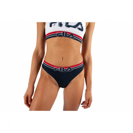 Dámske nohavičky FILA-FU6113 WOMAN STRING-321 NAVY