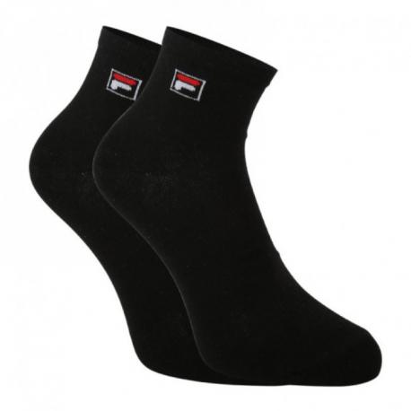 Ponožky FILA-F9303 SOCKS QUARTER PLAIN 3 PACK-200 ČERNÁ