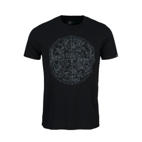 Pánské turistické tričko s krátkým rukávem NORTHFINDER-KYRENE-269black
