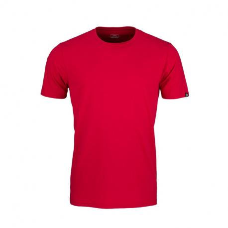 Pánské turistické tričko s krátkým rukávem NORTHFINDER-DEWOS-360red