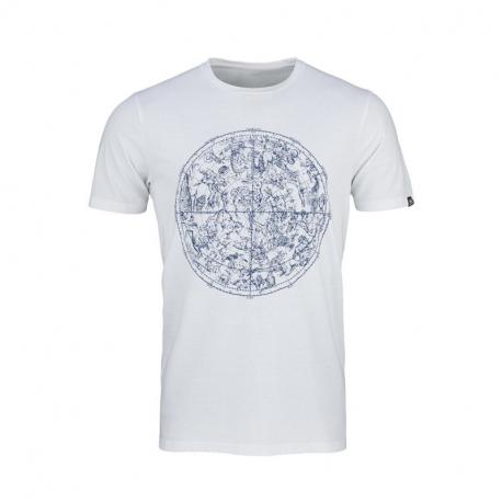 Pánské turistické tričko s krátkým rukávem NORTHFINDER-KYRENE-377white