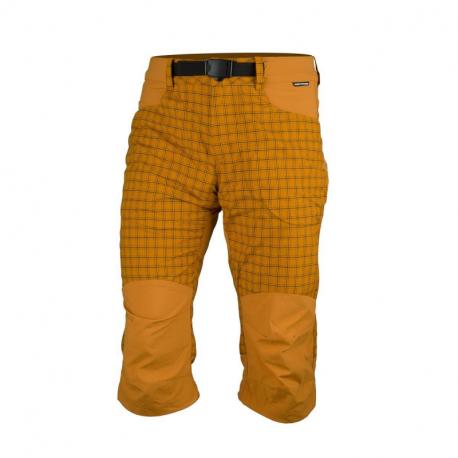 Pánské turistické 3/4 kalhoty NORTHFINDER-BONDGER-478yellow
