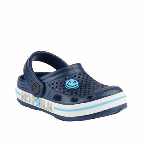 Dětské kroksy (rekreační obuv) COQUI-Lindo navy / white