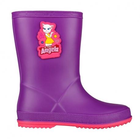 Dětské gumáky COQUI-Rainy Talking Tom purple / fuchsia