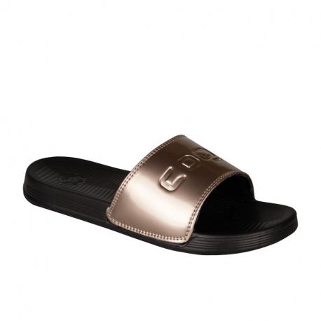 Dámská obuv k bazénu (plážová obuv) COQUI-Sana black / bronze