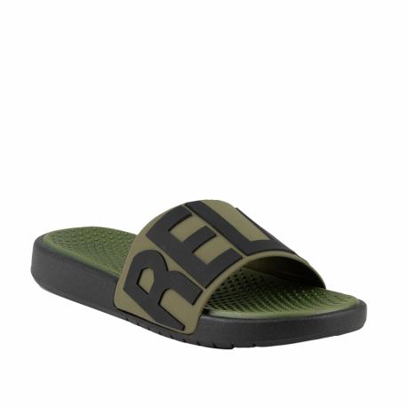 Pánská obuv k bazénu (plážová obuv) COQUI-Speedy army green (EX)
