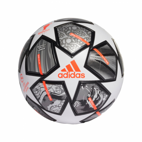 Fotbalový míč ADIDAS-FINALE TRN WHITE / IRONMT / SILVMT
