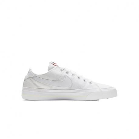 Dámska rekreačná obuv NIKE-WMNS Court Legacy white/summit white