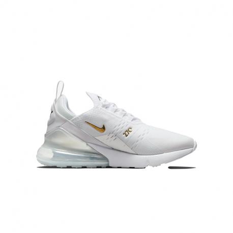 Dámská rekreační obuv NIKE-WMNS Air Max 270 white / gold / silver