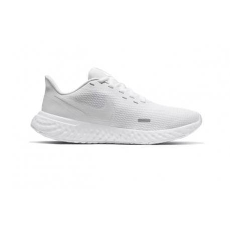 Dámska športová obuv (tréningová) NIKE-Revolution 5 white/white