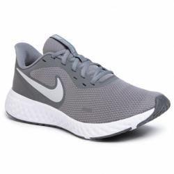 Pánska športová obuv (tréningová) NIKE-Revolution 5 cool grey/pure platinum (EX)