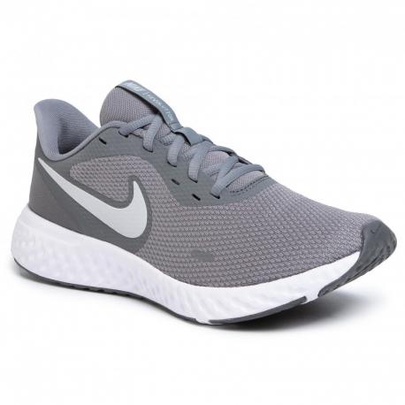 Pánská sportovní obuv (tréninková) NIKE-Revolution 5 cool grey / pure platinum (EX)