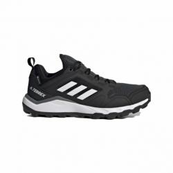 Dámska bežecká trailová obuv ADIDAS-Terrex Agravic TR GTX core black/crystal white/acid mint