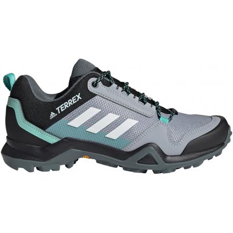 Dámská nízká turistická obuv ADIDAS-Terrex AX3 W halo silver / crystal white / acid mint