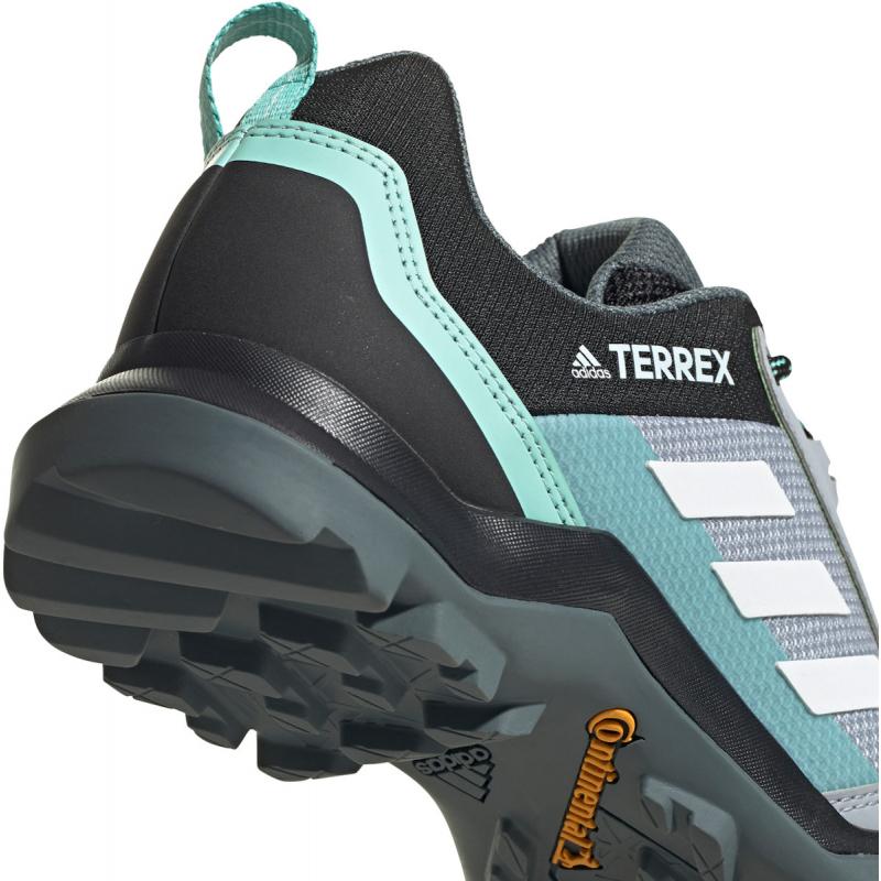 Dámska nízka turistická obuv ADIDAS-Terrex AX3 W halo silver/crystal white/acid mint -
