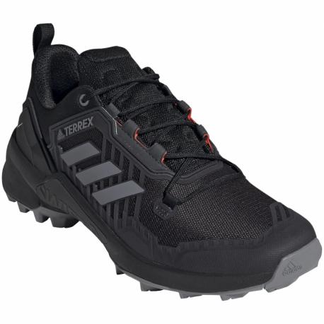 Pánska nízka turistická obuv ADIDAS-Terrex Swift R3 core black/grey one/solar yellow