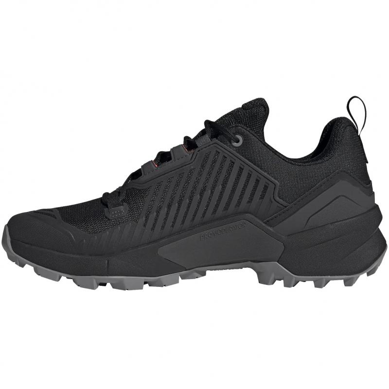 Pánska nízka turistická obuv ADIDAS-Terrex Swift R3 core black/grey one/solar yellow -