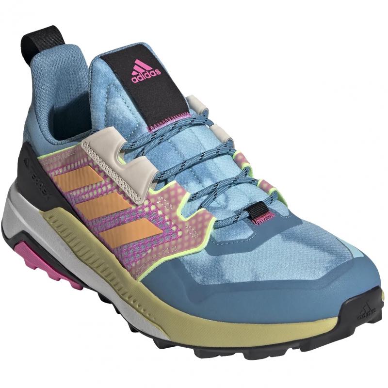 Dámska nízka turistická obuv ADIDAS-Terrex Trailmaker W hazsky/hazora/scrpnk -
