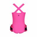 Dievčenské plavky COLOR KIDS-Swimsuit w. animal UPF 40+ Sugar Pink -