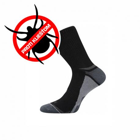 Turistické repelentné ponožky VOXX-Optifan 03-Black