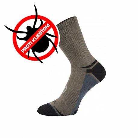 Turistické ponožky VOXX-Optifan 03-Khaki