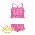 Dievčenské plavky COLOR KIDS-Bikini w. frills UPF 40+ Sugar Pink -
