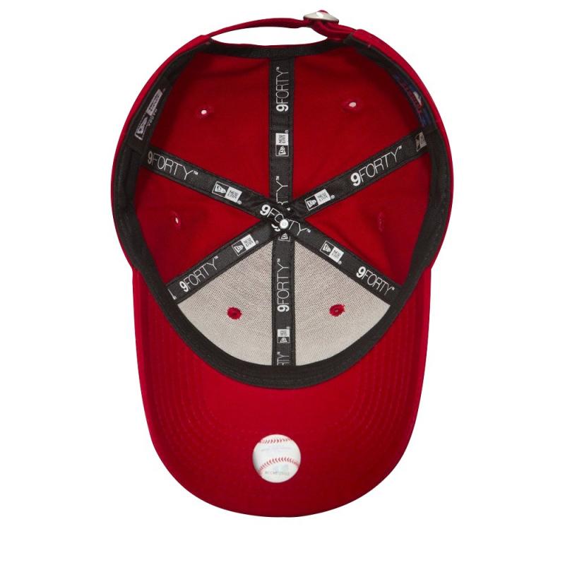 Juniorská šiltovka NEW ERA-940 MLB LEAGUE BASIC NY YANKEES RED/WHITE YOUNG NOS - Juniorská šiltovka značky New Era so štruktúrovanou šesťpanelovou korunkou, ktorá skvele kopíruje tvar hlavy.