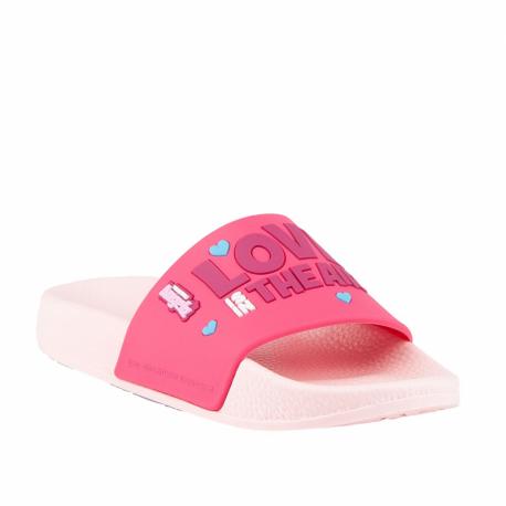Dětská obuv k bazénu (plážová obuv) COQUI-Ruki TT & F candy pink / light fuchsia