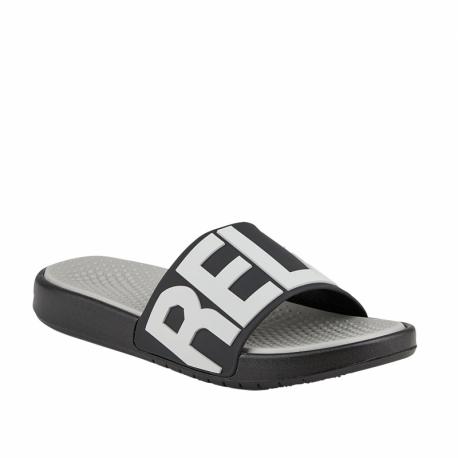 Pánská obuv k bazénu (plážová obuv) COQUI-Speedy stone / black (EX)