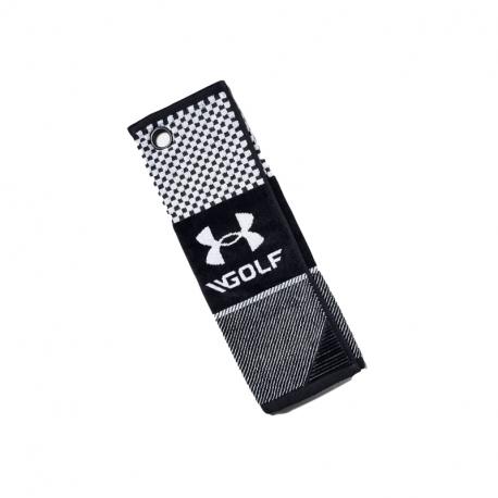Uterák UNDER ARMOUR-Bag Golf Towel-BLK