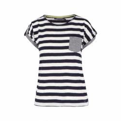 Dámske tričko s krátkym rukávom VOLCANO-T-BALTIC-NAVY