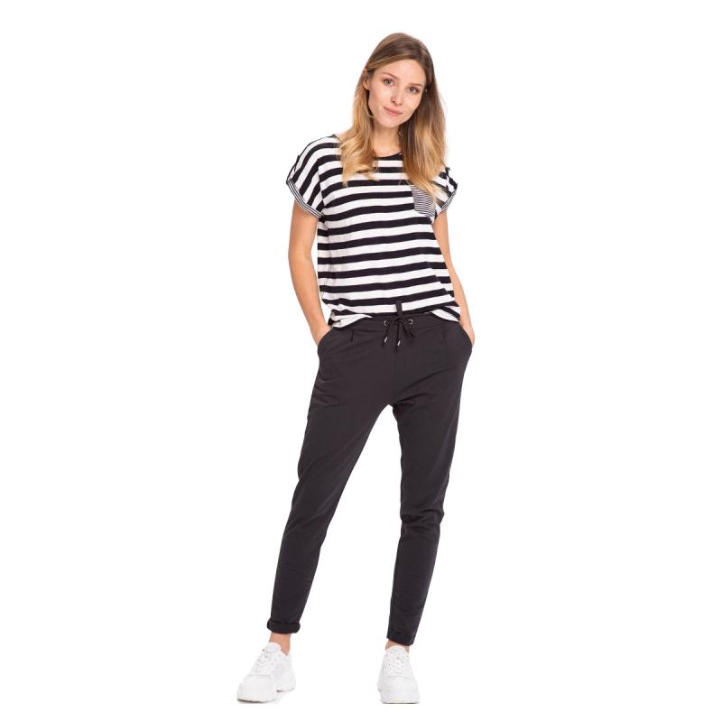Dámske tričko s krátkym rukávom VOLCANO-T-BALTIC-NAVY -