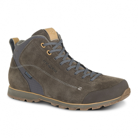 Pánska členková turistická obuv TREZETA-Zeta Mid WP brown