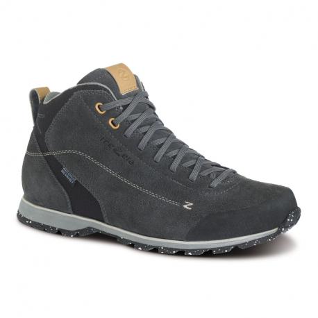 Pánská kotníková turistická obuv TREZETA-Zeta Mid WP dark grey