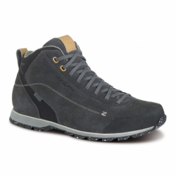 Pánska členková turistická obuv TREZETA-Zeta Mid WP dark grey (EX)