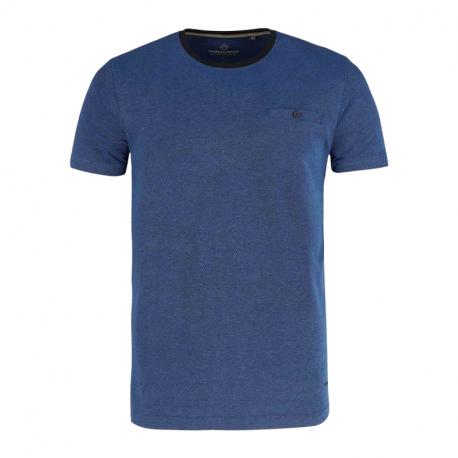 Pánské triko s krátkým rukávem VOLCANO-T-CALLE-BLUE MEL