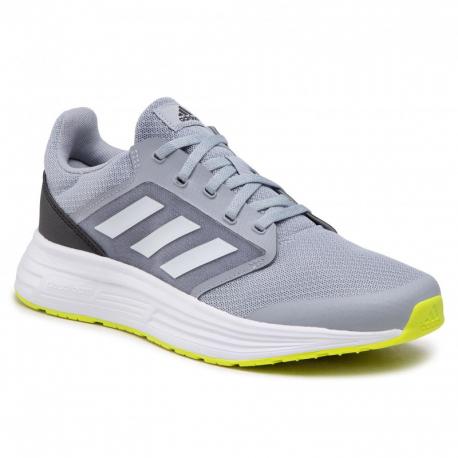 Pánska športová obuv (tréningová) ADIDAS-Galaxy 5 halfsil/ftwwht/cblack