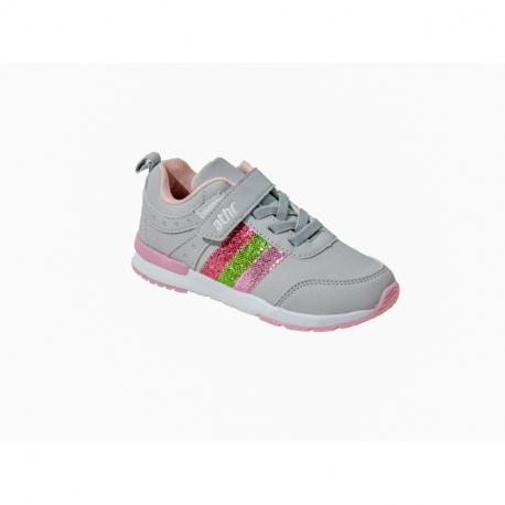 Detská rekreačná obuv AUTHORITY KIDS-Mendy grey/pink