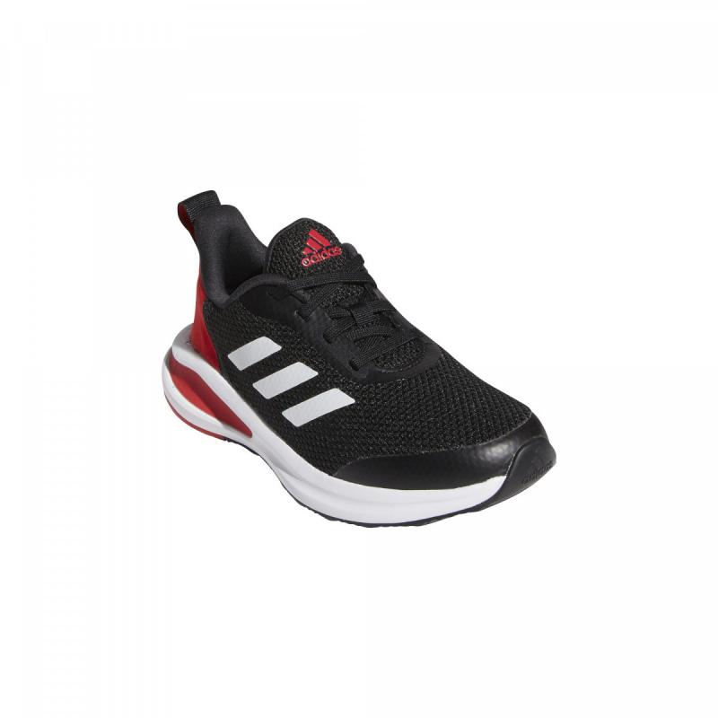 ADIDAS-FortaRun core black/white/vivid red 39 1/3 Čierna