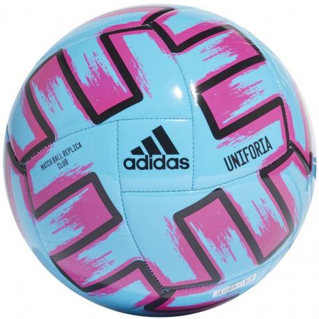 Futbalová lopta ADIDAS-UNIFO CLBBRCYAN/SHOPNK/BLACK