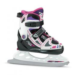 Detské ľadové korčule FILA SKATES-X-ONE ICE G BLACK/LILLA