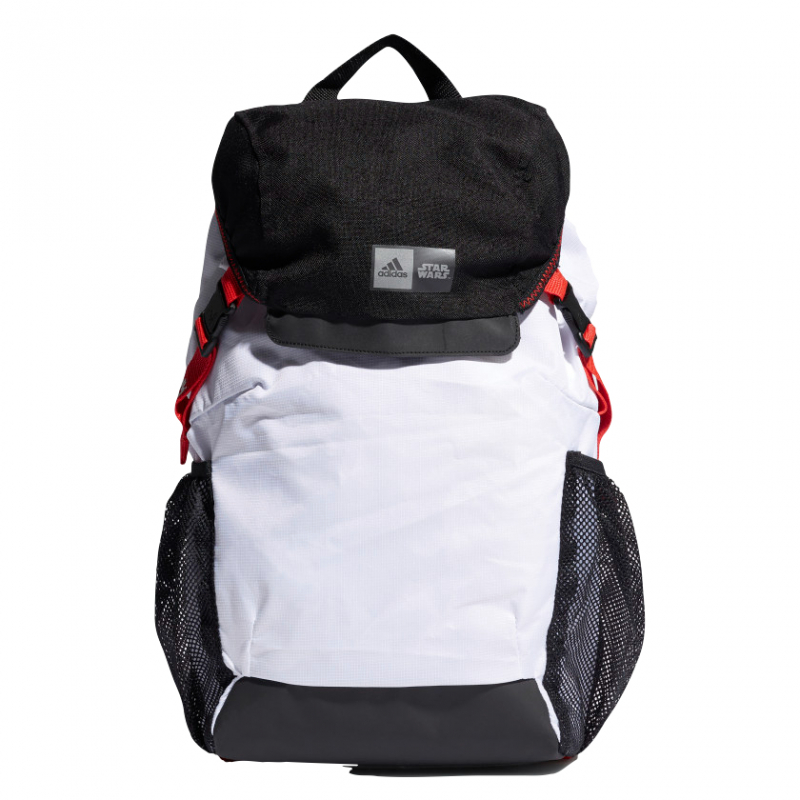 ADIDAS-Y SW BPK WHITE/BLACK/VIVRED Biela 15L